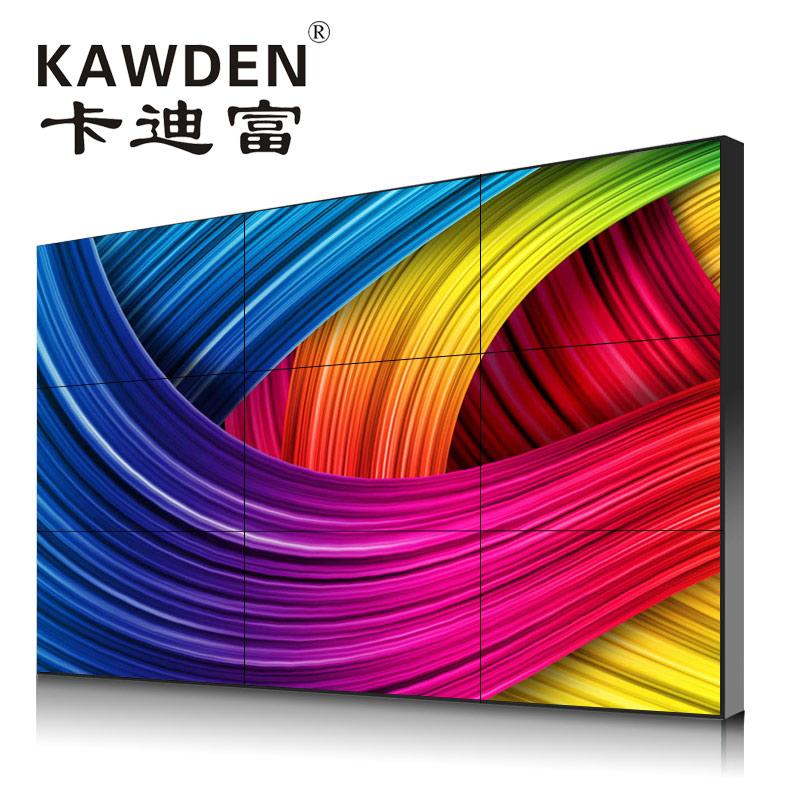 65寸无边框液晶拼接屏幕显示器安装方便