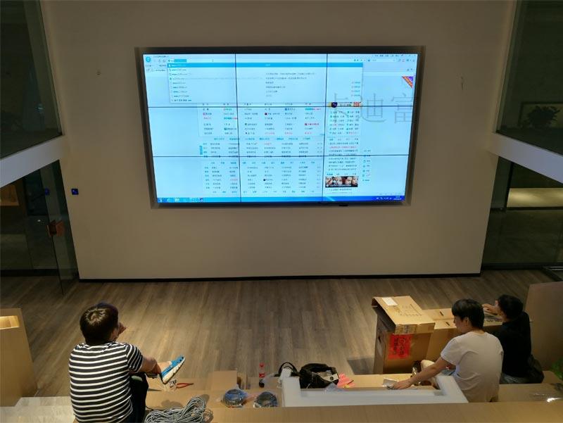 江苏室内设计液晶拼接屏案例