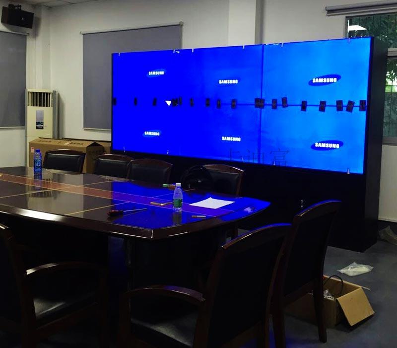汕头55寸液晶拼接屏供电局案例