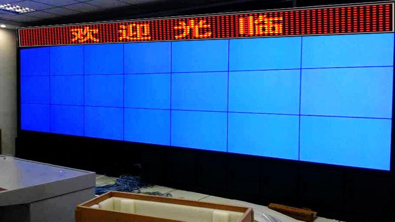 工业级液晶拼接屏应用