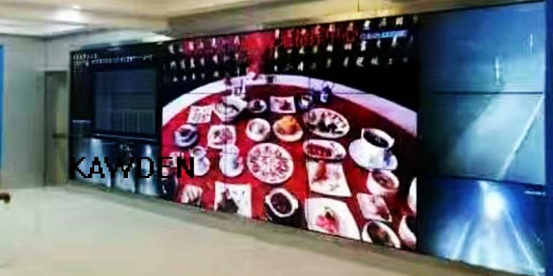 南宁交通局拼接屏案例图