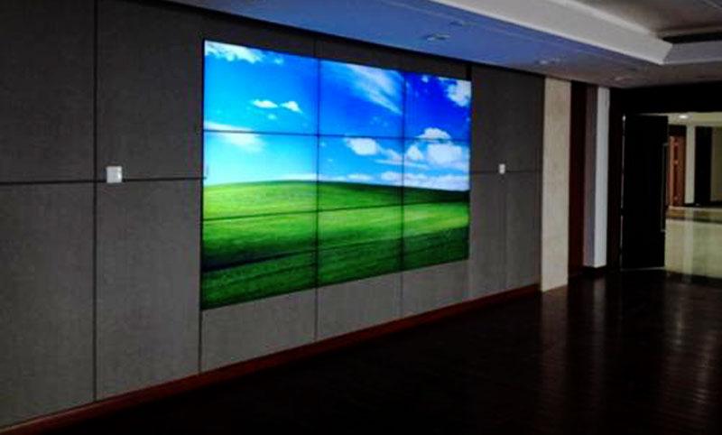 青岛49寸液晶拼接屏效果图