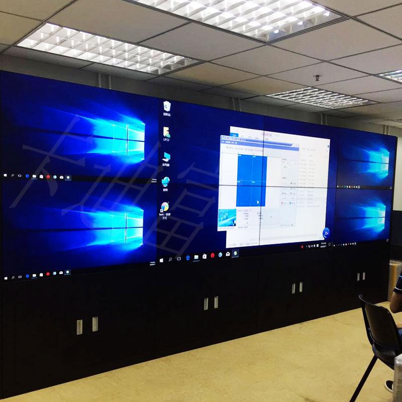 香港船厂55寸液晶拼接屏案例图