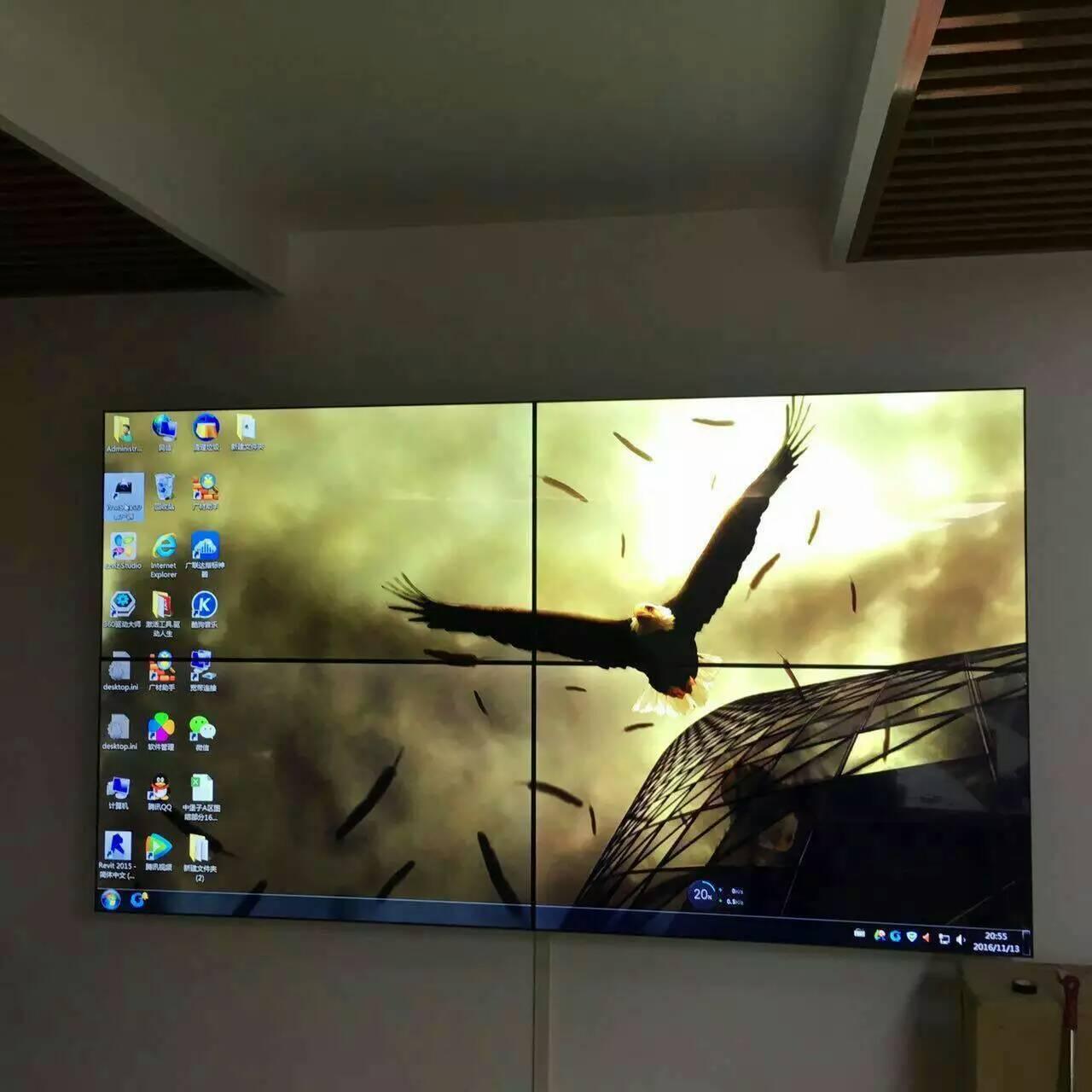 从客户DIY拼接屏安装案例,我们学到了什么
