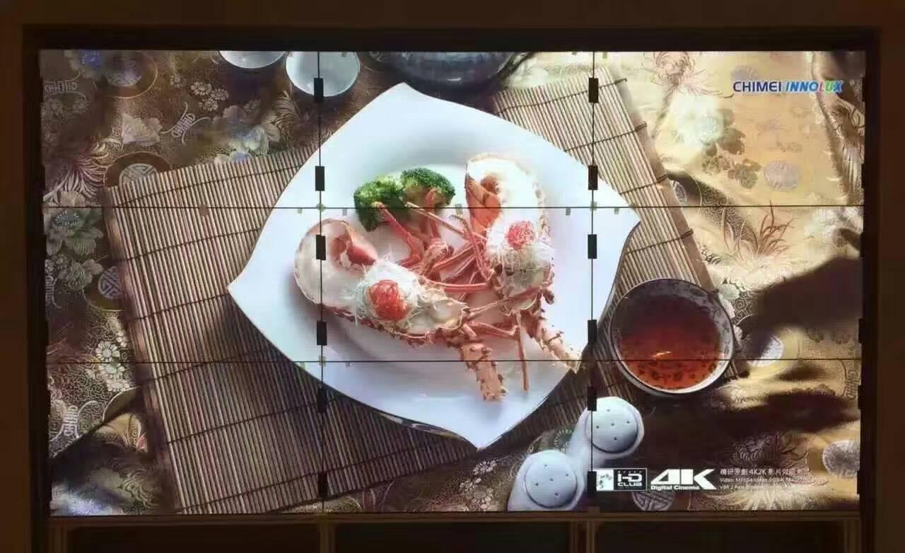 卡迪富4K大屏拼接屏显示,娱乐场所越来越受欢迎