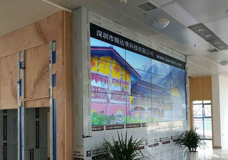 深圳拼接屏之46寸液晶拼接屏江西国税局展示案例