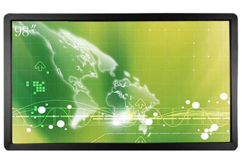 顺达荣98寸液晶4K商用显示器大屏幕监视器DP信号输入