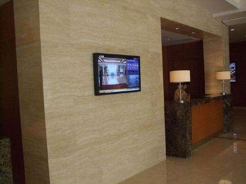 楼宇广告机的应用图片