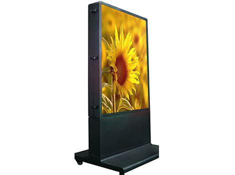 户外液晶广告机的安装