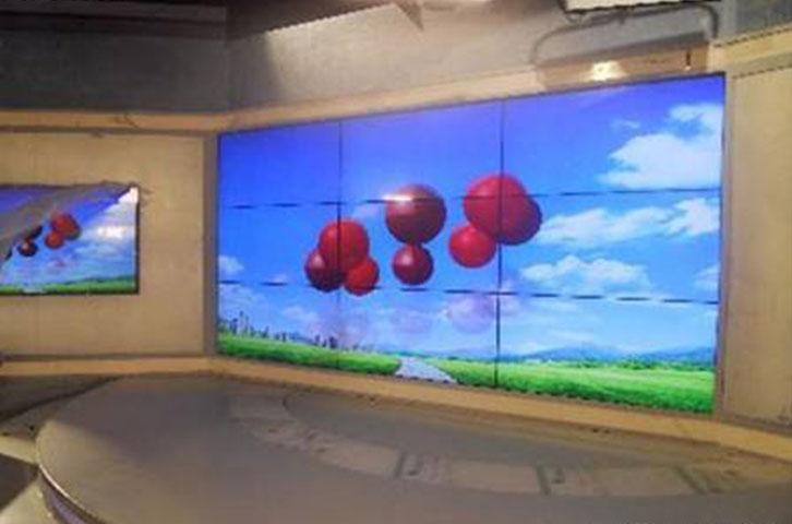 55寸无缝液晶拼接屏助力电视媒体新高度