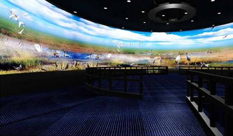宁夏科技馆大屏幕拼接屏全视角体验设计案例