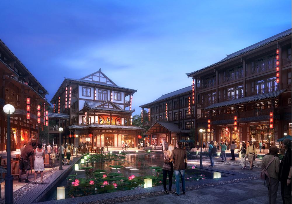 四川省·眉山市天府国际影视城项目