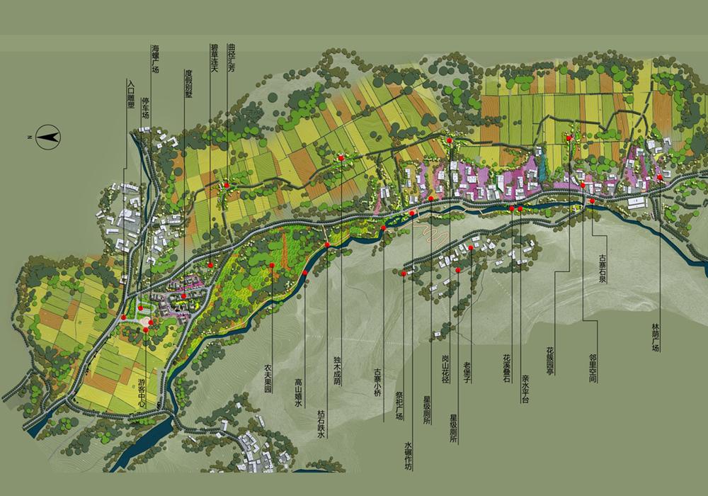 项目名称:四川省雅安市蟹螺堡子乡村旅游规划   项目位置:四川省雅安