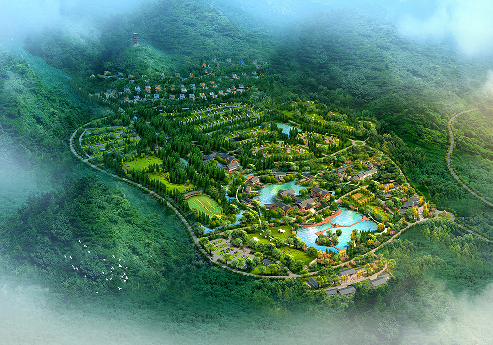 中国最美森林型养生度假房车营地 项目名称:四川雅安市东拉山房车营地概念规划 项目位置:四川雅安市宝兴县 规划面积:620亩 项目简介:项目地以东拉山大峡谷景区为依托,以生态统筹、自驾游助推、多元发展为理念,以景区+营地的发展模式,实现与山共浴、人与天融的人居体验。项目形成一带两区八组团一基地的空间布局,设置接待服务组团、滨水休闲组团、综合服务组团、房车营地组团、情趣营地组团、自驾车营地组团、木屋营地组团和后勤配套组团。 项目进度:已通过评审