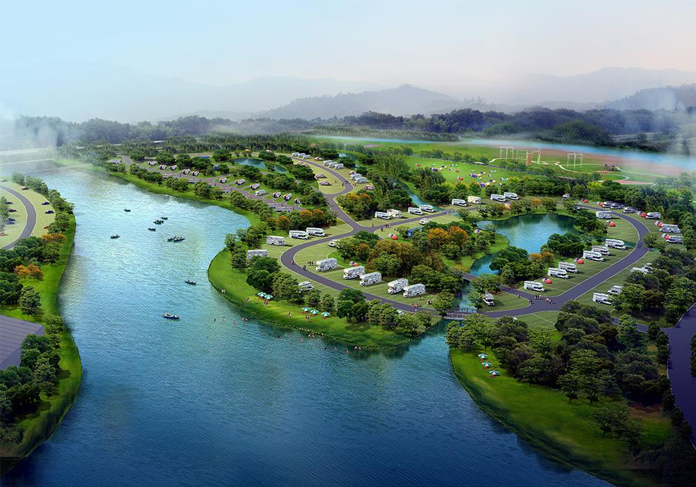 浙江·温州·楠溪江国际房车露营公园