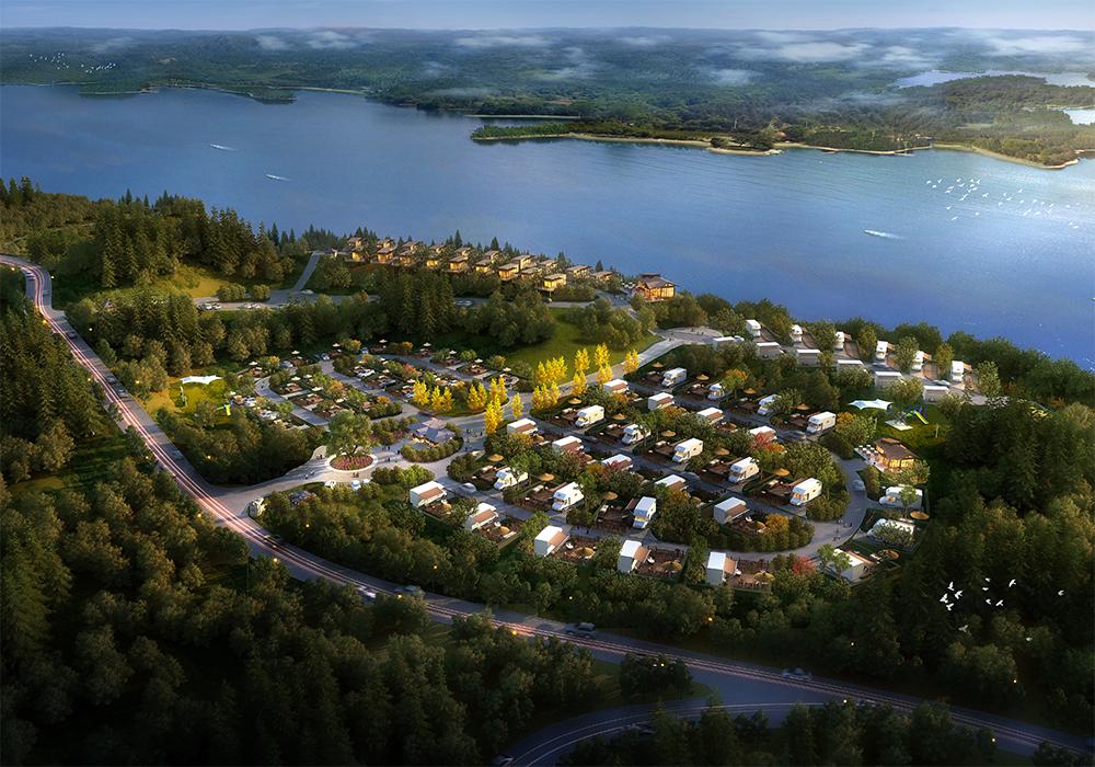 四川·绵阳市·仙海湖度假营地