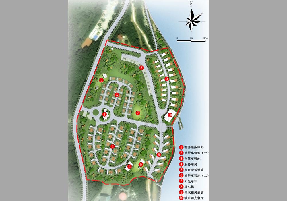 旅游项目策划 旅游景区规划 房车营地规划设计
