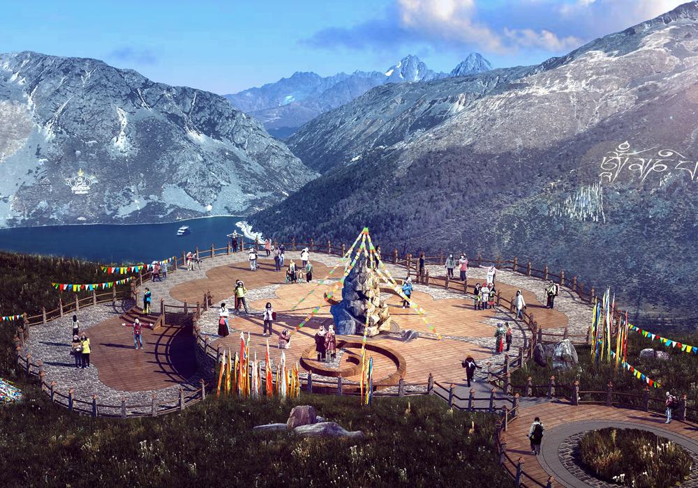 四川省·甘孜州·康定情歌.木格措风景区