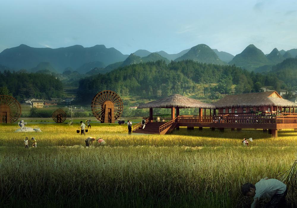 贵州省·遵义市·莲池村乡村旅游
