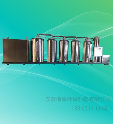 高温塑料废气处理设备-WJQX-A-6型
