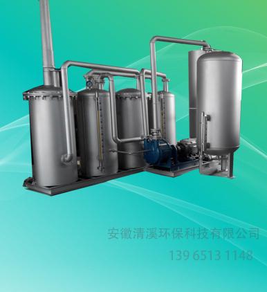 高温塑料废气处理设备-WJQX-A-2型