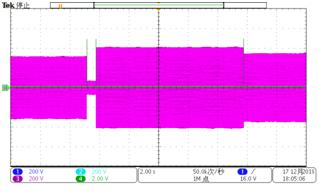 三相高低電壓穿越聯合測試1