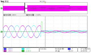 三相高低電壓穿越聯合測試2