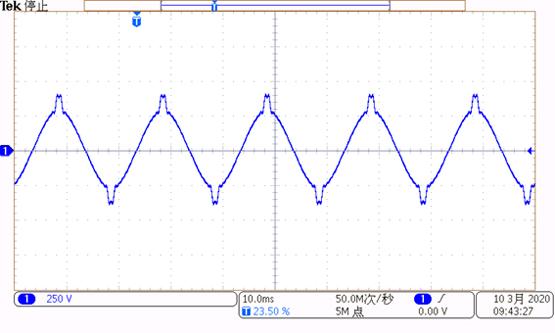 典型諧波電壓波形