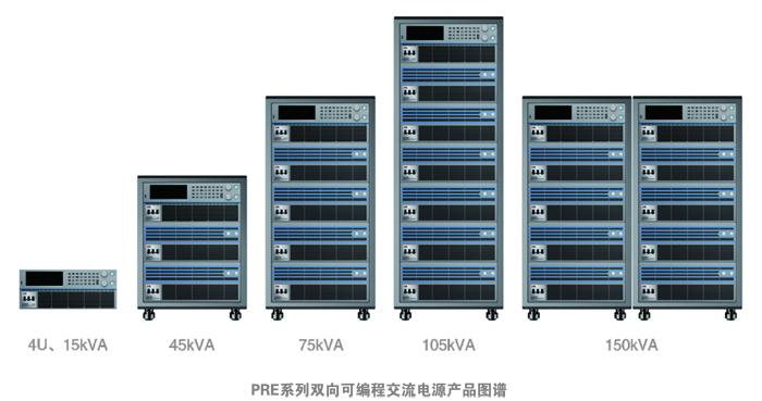 PRE系列雙向可編程交流電源產品圖譜