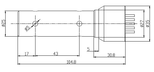 INFC205结构尺寸图
