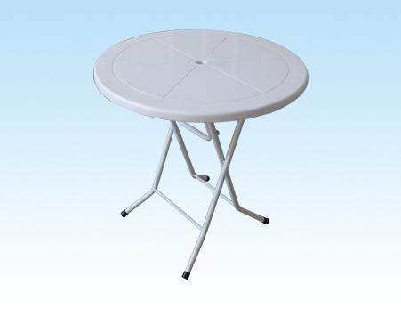 30''塑面鐵腳圓桌