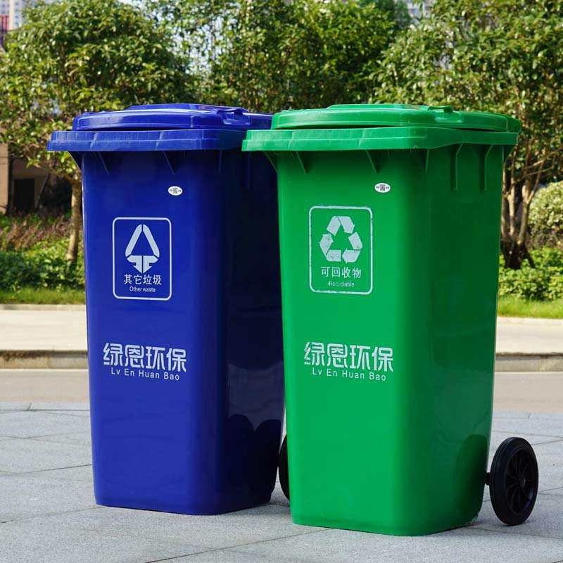 塑料垃圾桶的清潔優勢