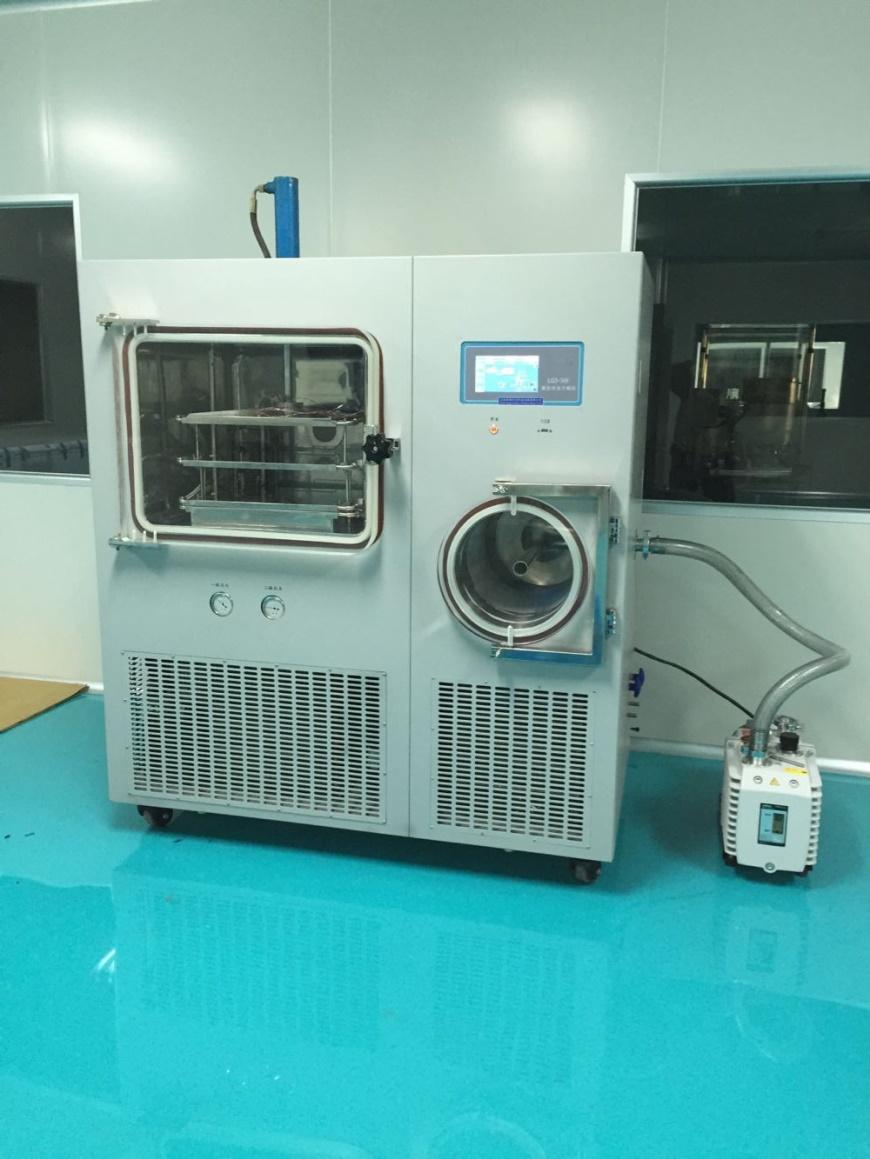 BIONOON-100FE(硅油加热)压盖型真空冷冻干燥机