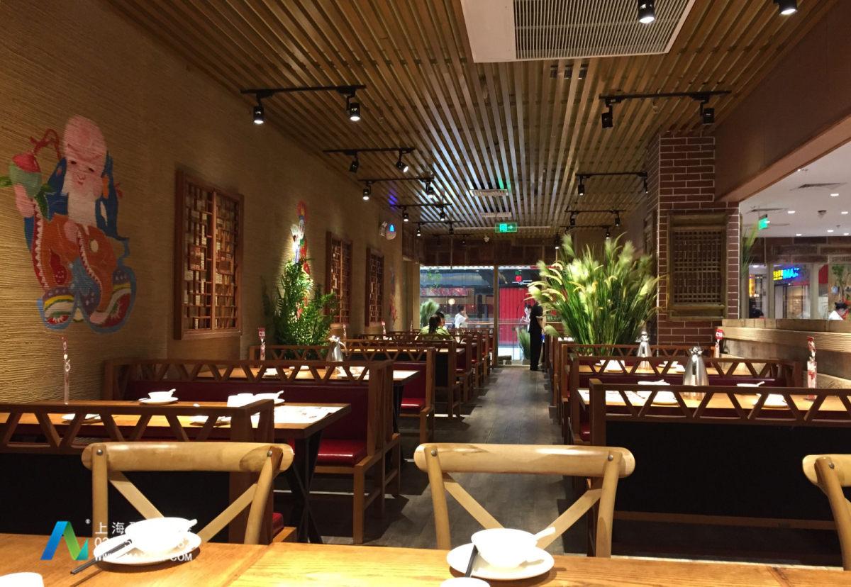 福建印象西北餐厅彩绘