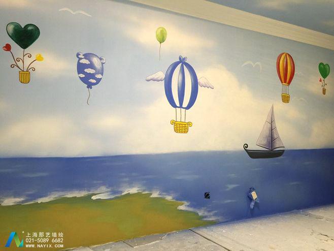 儿童房墙绘,为孩子打造一个美好的童年