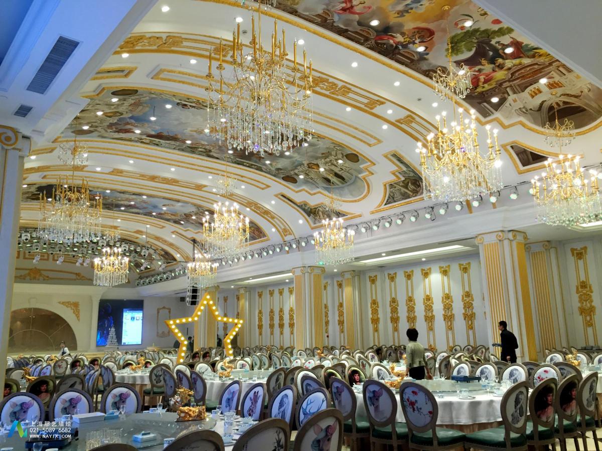 内蒙古巴彦淖尔华澳大酒店壁画