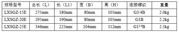 视频卡水表安装尺寸图