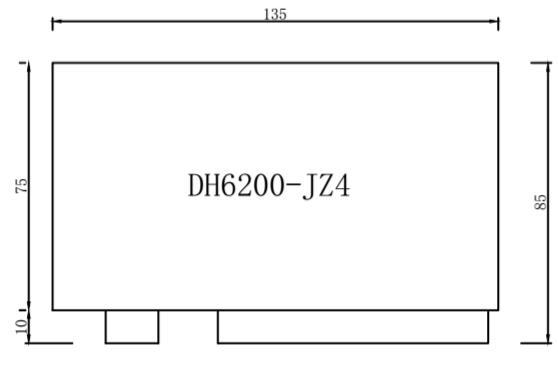 DH6200-JZ4型 数据采集器外壳尺寸