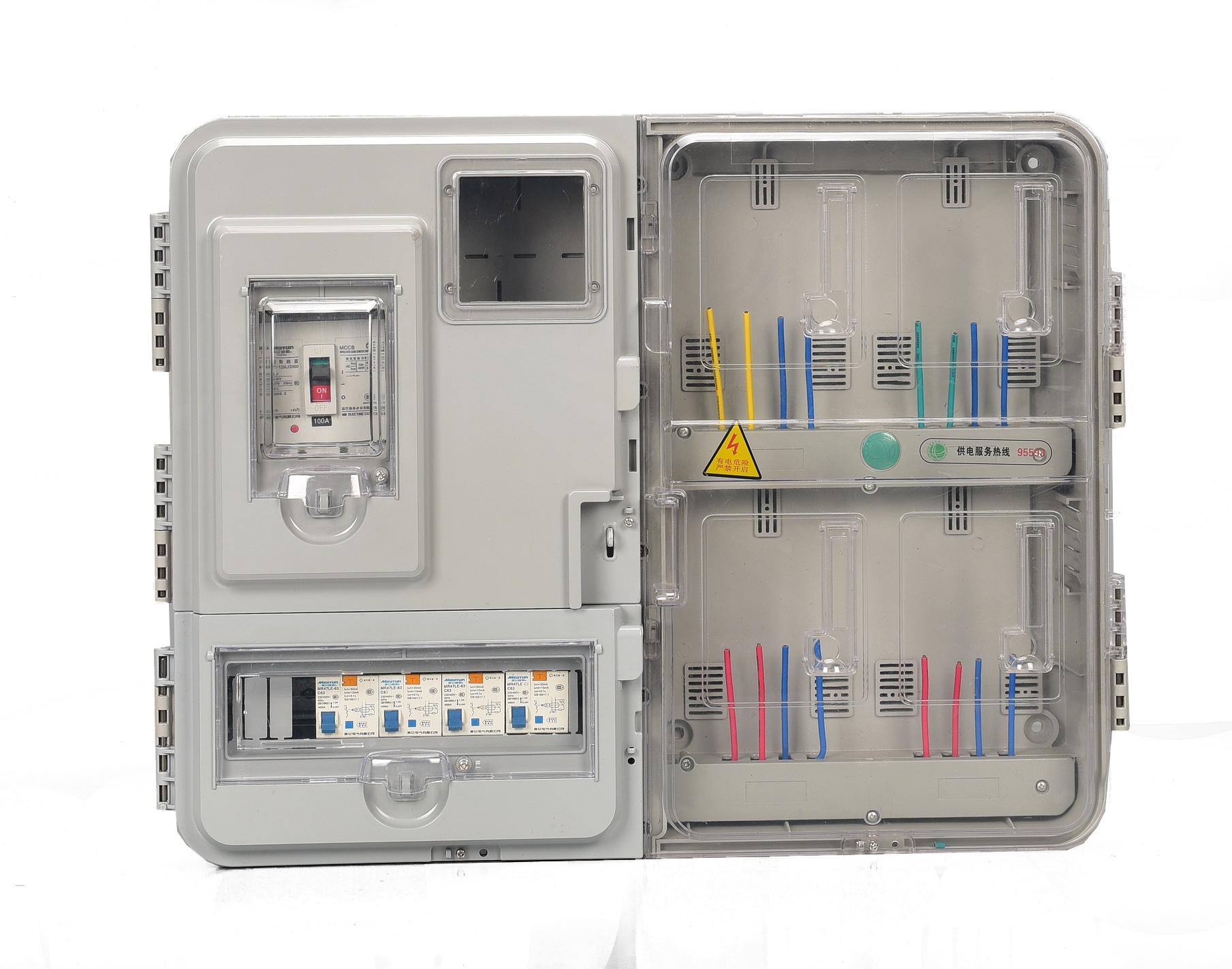 电表箱外形图