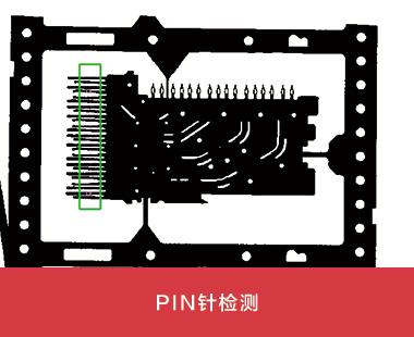 PIN针检测