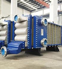 Wide-Gap Welded Plate Heat Exchanger