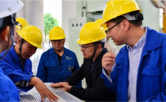 Management from BASF visited SHPHE