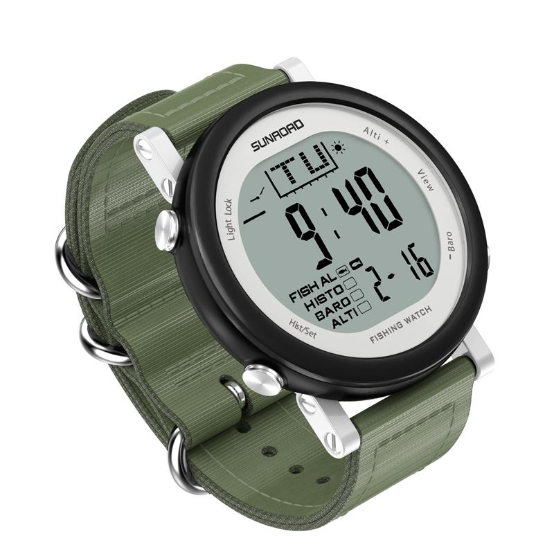 垂钓装备钓鱼手表