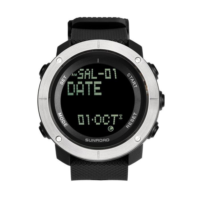 防水电子运动手表