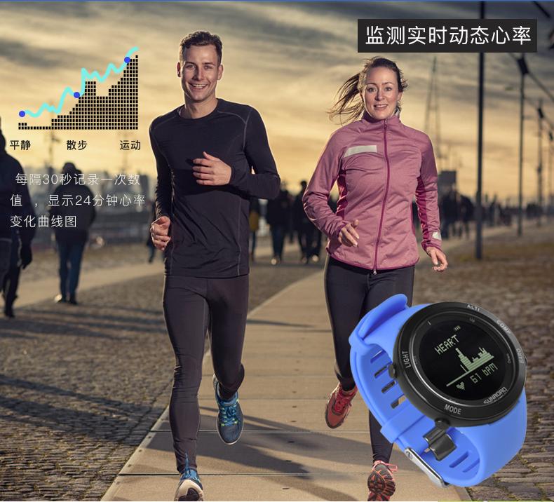 智能心率手表提醒你夏天跑步要注意的事项