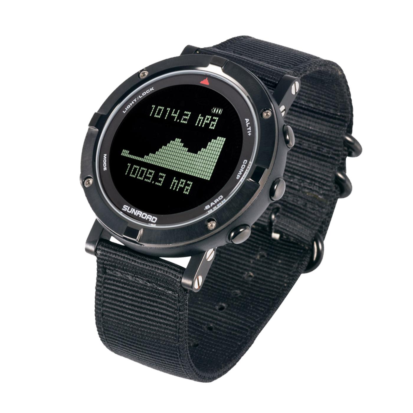 心率运动手表极速先锋款黑