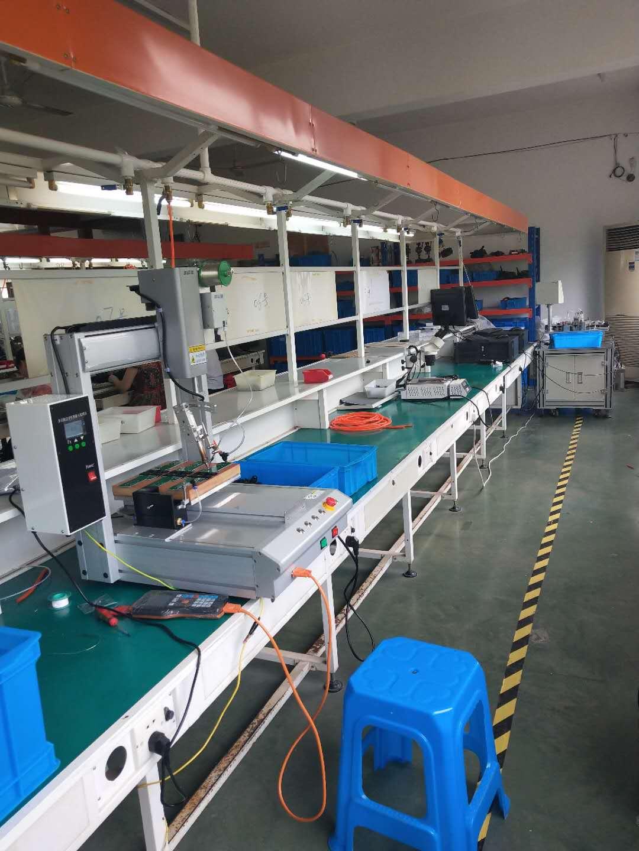 杭州客戶PCB焊接現場