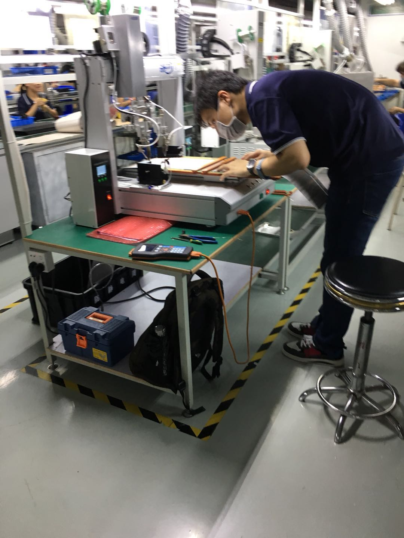 德國客戶LED軟板焊接