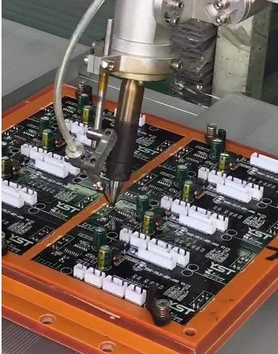 CSX-5331自動焊錫機焊錫展示