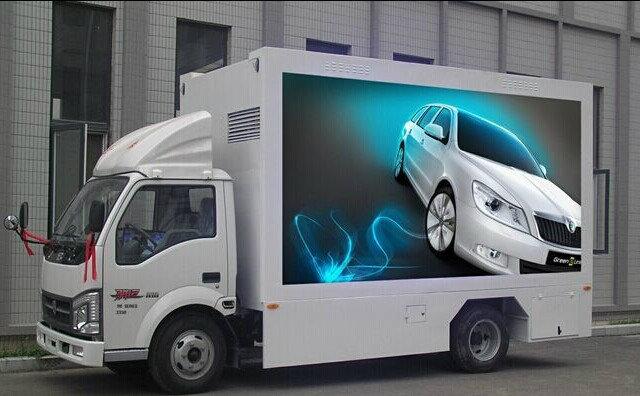 LED视频宣传车